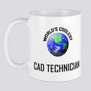 World's Coolest CAD TECHNICIAN Mug